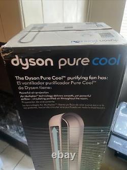 Ventilateur De Tour De Purificateur D'air Dyson Am11 Pure Cool Hepa, Blanc/argent
