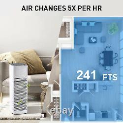 Véritable Filtre Hepa Purificateur D'air Grande Salle Nettoyeur D'air Pour Allergies Odeurs De Fumeur