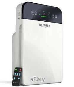 Wagner Premium Switzerland Purificateur D'air H885 Pour La Salle Jusqu'à 400 Mètres Carrés. Ft Hepa True