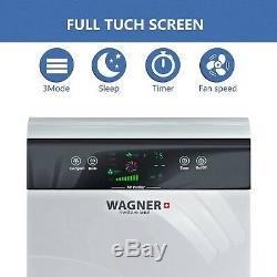 Wagner Premium Switzerland Purificateur D'air Pour La Salle De Dossier H883 Jusqu'à 350 Sq. Ft Hepa True
