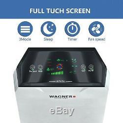 Wagner Premium Switzerland Purificateur D'air Wa777 Pour La Salle Jusqu'à 500sq. Ft Hepa True
