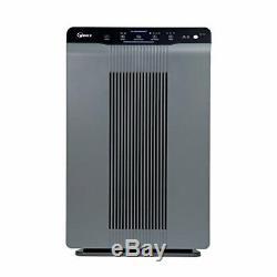 Winix 5300-2 Purificateur D'air Hepa, Plasmawave La Réduction Du Filtre À Charbon, Gris