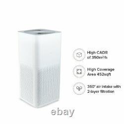 Xiaomi MI Purificateur D'air 2c Version Eu/uk Avec Filtre Hepa True (blanc)