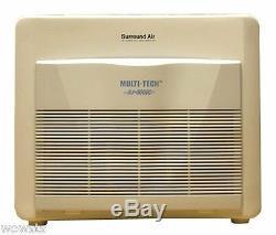 Xj-3000 Hepa Purificateur D'air Pour La Fumée, Allergène, Animaux, Maison Filter Chambre