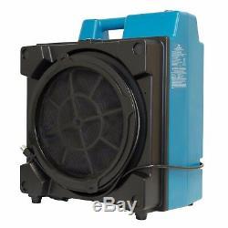 Xpower X-3580 Hepa Industriel + Charbon Actif Incendie Fumée Air Scrubber Purificateur D'air